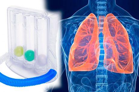 Få stærke og sunde lunger med den smarte åndedrætstræner