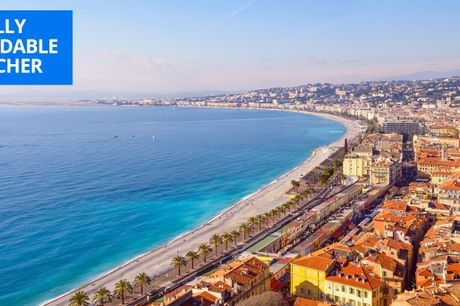 £59 & up -- French Riviera hotel stay inc breakfast, 76% off