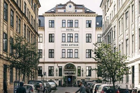 Enestående spa-ophold på Hotel Kong Arthur inkl. bobler og sommer-event. Bo perfekt i centrum af København og få et enestående spa-ophold med bobler og sommer-event
