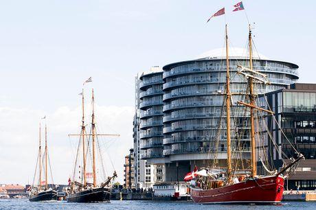 Sejlads med skonnert . Oplev København fra vandet - evt. havnerundfart