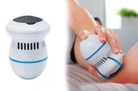 Få bløde, sommerklare fødder med elektronisk fodfil, der fjerner hår og tør hud