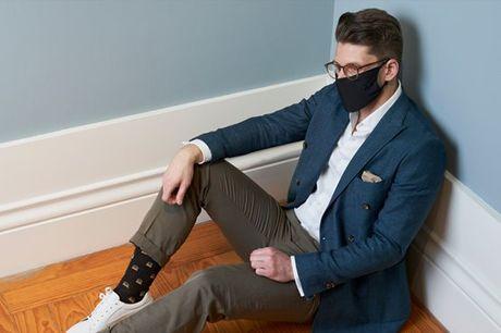 Uma marca 100% portuguesa, irreverente e de reconhecida qualidade, dedicada ao público masculino. Na WestMister, conjunto Mask & Socks por apenas 18,90€.