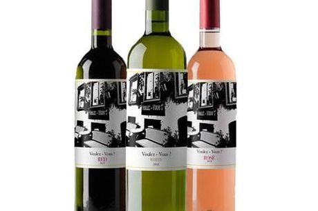 Favoritkasse m. vin - 6 eller 12 flasker fra Voulez Vous. De varme sommerdage er her endelig, og det er derfor tid til at nyde lækre og delikate vine udenfor. Denne favoritkasse fra Châteauneuf indeholder både rød, hvid og rosévine, der kan bruges til all
