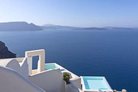 Grecia Thira - Canaves Oia Suites 5* desde 727,00 €. Déjate envolver por el mar Egeo