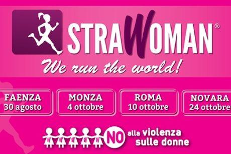Strawoman: fino a 3 iscrizioni, dal 30 agosto al 24 ottobre a Faenza, Monza, Roma e Novara (sconto fino a 41%)