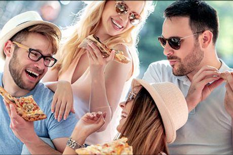 Jubi! Så er der deal på takeaway pizza - Prøv de populære pizzaer fra La Bello. Du får 2 stk. valgfri almindelig pizza, vælg mellem pizzaer fra nr. 7-33, værdi kr. 150,-