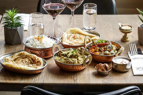 Få en ekstraordinær kulinarisk oplevelse, når The South Indian inviterer på 5-retters indisk menu i alle deres restauranter i Danmark