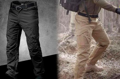 Effektive og komfortable friluft / arbejds-bukser med mange funktioner
