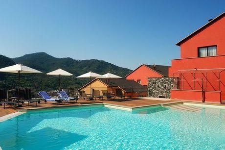 Italia Cinque terre - Park Hotel Argento 4*S a partire da € 282,00. Le Cinque Terre con mezza pensione, piscina e vista panoramica