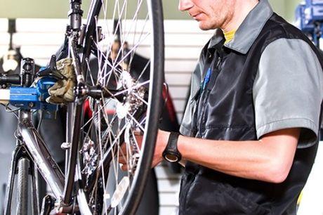 Fahrrad-Inspektion inkl. Kleinreparaturen, optional inkl. Reinigung bei der Fahrradstation (bis zu 51% sparen*)