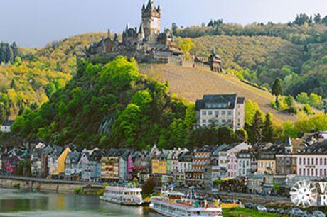 HOTEL WYNDHAM GARDEN LAHNSTEIN ved Koblenz - 2-5 overnatninger med middag og morgenmad.