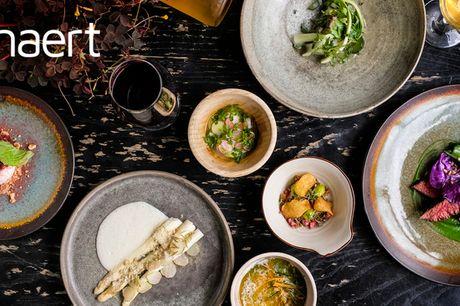 7 serveringer hos Naert. Besøg anmelderdarling: Michelin-kok med fortid på Noma
