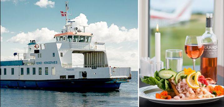 6 dages Ø-hop i Smålandshavet - Øhop ophold for 2 personer med 5 overnatninger, morgenmad, aftensmad eller frokostpakke til ø-udflugter, færgebilletter, cykelleje og minigolf. Værdi kr. 9105,-