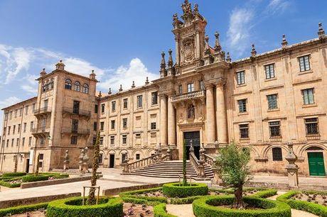 España Santiago De Compostela - Hotel Oca Puerta del Camino 4* desde 50,00 €. Un ambiente históricamente bello y en media pensión