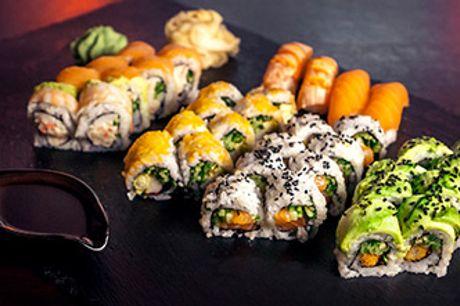 FREDERIKSBERG - Luksussushi fra Akiba til 2-4 personer. Nydes i restauranten eller som takeaway.