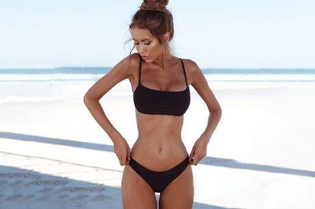 Klassieke bikini in sportieve stijl