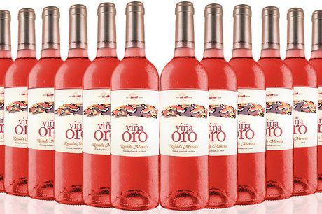 12 Bottles of Viña Oro Rosado Bierzo Wine     Filled with ripe red fruits for a surprisingly fresh and fruity taste     Bring some life to your dinner party or evening in with a lively and mouth-watering wine     Comes in a case of 12 bottles of wine