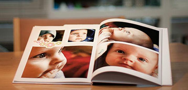 Saml dine bedste minder i en smuk og hyggelig fotobog. Vælg mellem flere forskellige. Inkl. fragt.
