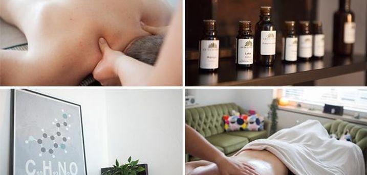 Få 30 minutters afslappende massage hos Forever Mindful på Albanivej i Årslev