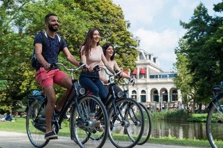 Fiets huren in Amsterdam voor 1 of 2 dagen bij A-Bike Rental & Tours aan het Vondelpark