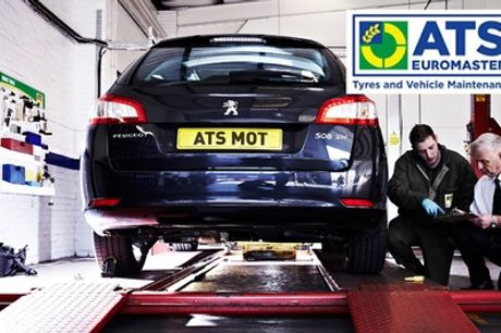 MOT Test, Vehicle and Battery Health Check at ATS Euromaster, Nationwide (Up to 38% Off)