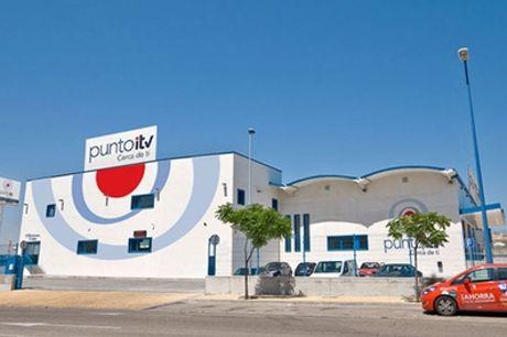 ITV con tasas incluidas para vehículos o motocicletas en Punto ITV Leganés (hasta 33% de descuento)