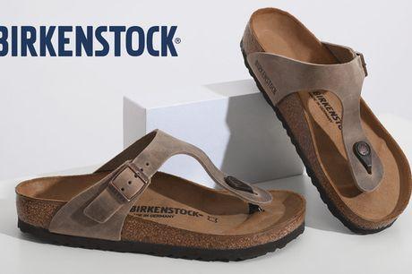 Birkenstock-sandaler. Bliv klar til sommeren - med komfort og stil