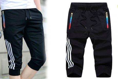 Afslappede og stilfulde shorts med farverige detaljer