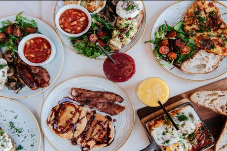 £20 for bottomless brunch dishes, pastries and pancakes at Music & Beans