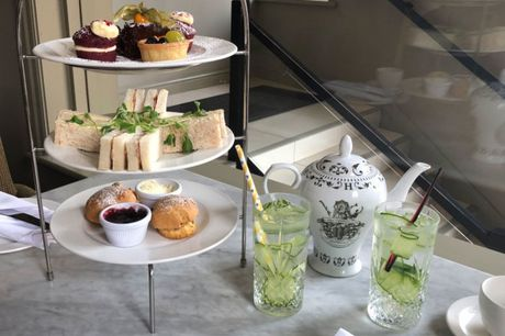 £25 instead of £45.90 for an afternoon tea for two people with a gin and tonic each, or £46 for four people at the 4* Townhouse Hotel Manchester - save up to 45%