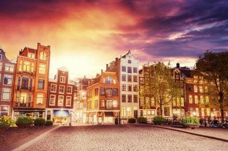 Hartje Amsterdam: small of superior tweepersoonskamer voor 2 personen incl. ontbijt bij The Lancaster Hotel Amsterdam