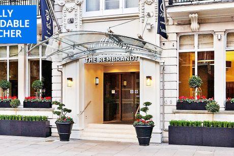 £129 -- London: 'elegant' Kensington stay w/bottle of wine