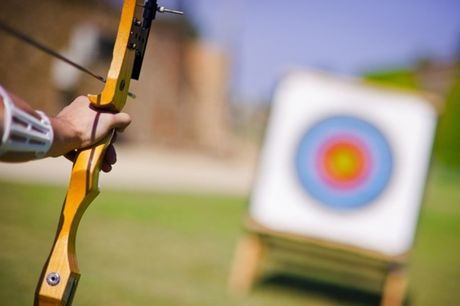 £12 instead of £24 for a one-hour archery experience for two at Moving Mountains, Kelston - save up to 50%