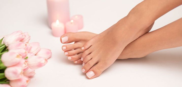 £8 for a gel polish manicure or pedicure, or £14 for both at LM Beauty, Hamilton