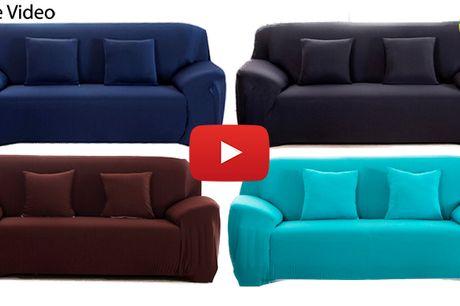 Premium sofabetræk i klassisk design og flotte farver