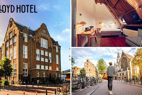 Overnachting + ontbijt voor 2 in Amsterdam-Oost