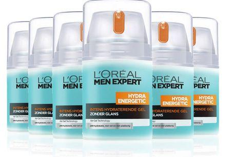 6x L'Oréal Hydra Energetic Gel