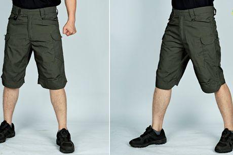 Vandtætte taktiske shorts i åndbart og slidstærkt materiale