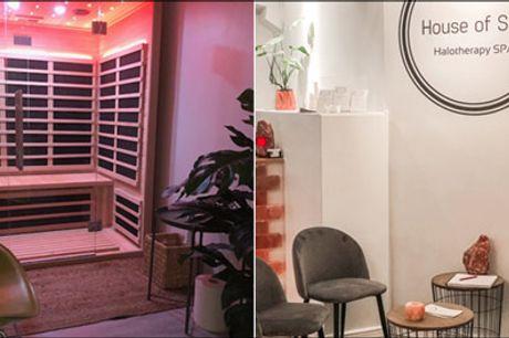 Unik wellness - Infrarød sauna - Lev i nuet med House of Salt - Prøv 20 eller 50 min. Infrarød saunabehandling, værdi op til kr. 300,-