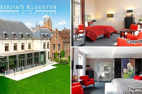 Overnachting + ontbijt voor 2 in hartje Leuven