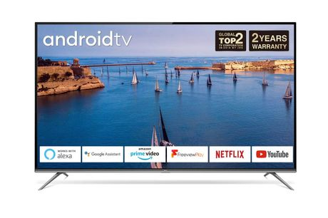 "TLC 50"" 4K Smart Ultra HD TV - Built-in Android TV"