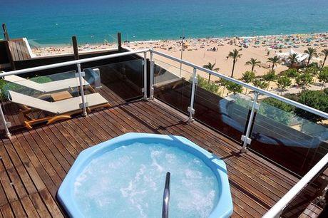 España Calella - Hotel GHT Maritim 4* desde 62,00 €. Desconexión a pie de playa con 1 niño gratis