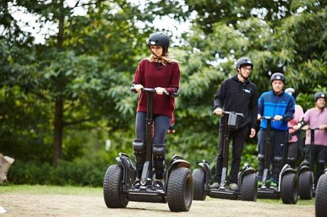 £19 instead £50 for a weekday Segway thrill experience for two, or £39 for a Segway rally for two, seven days a week from Segway Events - choose from 15 locations and save up to 62%