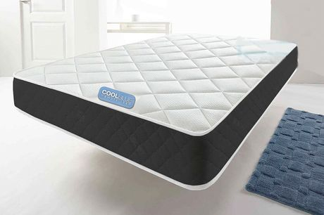 From £29 instead of £140 for an eight-inch Cool Touch memory foam mattress from Onyx Beds – choose from six sizes and save 79%