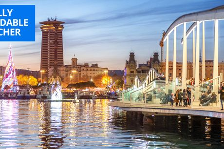 £115 & up -- 'Ultra-luxurious' 5-star Barcelona stay for 2