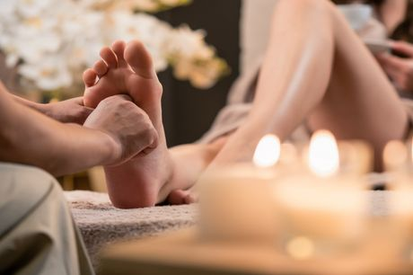 74% off a dual-accredited online reflexology course