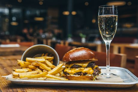 £15 for a burger, fries and a beer at Mac & Wild