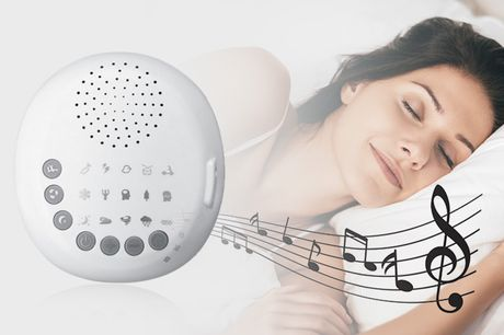 £18.99 instead of £49.99(from Hey4beauty) for a white noise sleep therapy machine - save 62%