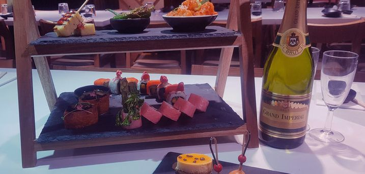 £39.90 for an interactive afternoon tea for two, or £49.90 to add a glass of sparkling wine each at Inamo - choose from three locations and save 54%