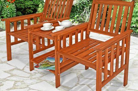 2 Seater Loveseat Garden Bench